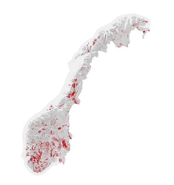 kart radon Slik undersøkte NRK radonkartene kart radon