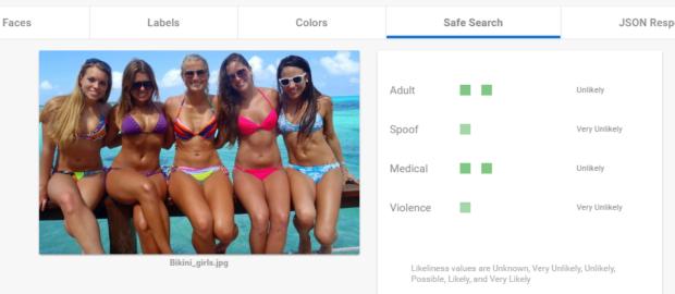 Bikini Safe Search innsikt