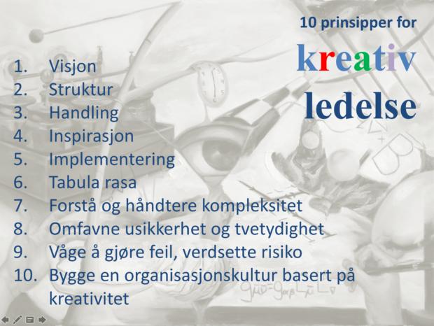10 prinsipper